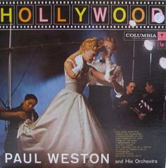 Hollywood — Paul Weston #vintage #vinyl #records