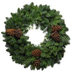 Northwoods Christmas Wreath.