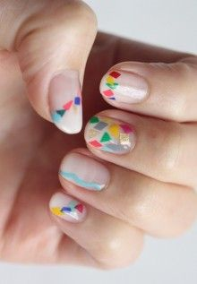 Mosaic inspired. LOVE this fun look!