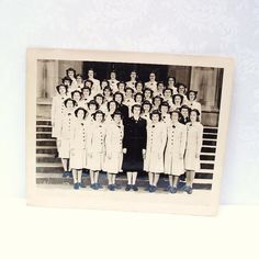 World War II Photo wwii US Navy Vintage Photograph by WhimzyThyme, $26.00