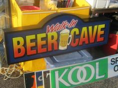 Sign from Wolff's Flea Market. Sold soon after photo was taken.