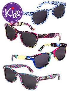 Milly and Max Kids Sunglasses.