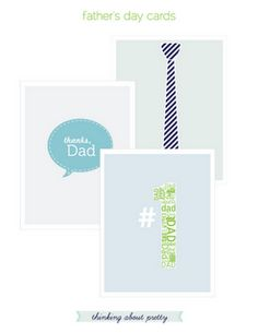 cute printable fathers day cards