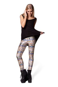 Egyptian Parchment Leggings by Black Milk Clothing