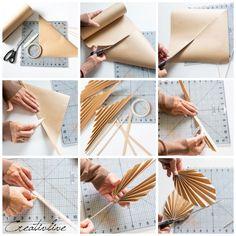 Diy Crafts Hacks, Diy And Crafts, Diy Projects, Diy Flowers, Paper Flowers, Diy Paper, Paper Crafts, Housewarming Decorations, October Crafts