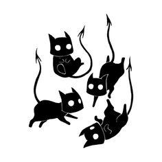 35 Ideas Illustration Art Drawing Doodles Products For 2019 Halloween Illustration, Art And Illustration, Illustration Animals, Halloween Drawings, Halloween Art, Demon Drawings, Cute Drawings, Ghost Drawing, Drawing Art