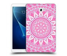 "Coque Samsung Galaxy Tab A6 10.1"" 2016 design mandala rose"