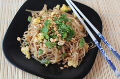 """I'm kind of a Thai food freak. I have a place down the streetthat I go to every Friday night and they know exactly what I'm going to order without me even having to say it. Pretty sad, I know. ButI'm off """"kitchen duty"""" Friday nights.I cook every other day of the week, so Friday …"""