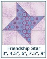 Friendship Star quilt block tutorial You'll make an Eccentric Star quilt block in no time when you use a simple technique for creating half square triangles Easy Peasey! Star Quilt Patterns, Paper Piecing Patterns, Star Quilts, Pattern Blocks, Scrappy Quilts, Denim Quilts, Quilting Projects, Quilting Designs, Sewing Projects