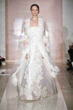 2014 Reem Acra Robe de mariée sur http://www.espacemariage.com