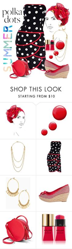 """""""connect the dots"""" by daincyng ❤ liked on Polyvore featuring Rinati Lakel, Topshop, Tory Burch, Stella & Dot, Yves Saint Laurent and PolkaDots"""