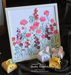 Love the little bunny boxes Inking Idaho on the Road Displays Part 3 3d Paper Crafts, Diy And Crafts, Becky Roberts, General Crafts, Punch Art, Easter Ideas, Keepsake Boxes, Paper Piecing, Scrapbooks