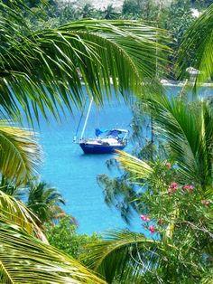 The Island of Ile a Vache, South east of Haiti. One of Haiti treasured Islands.
