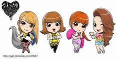 [FANART] 120701 2NE1 New Evolution