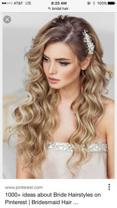 How To Do Hairstyles For Long Hair 42 Half Up Half Down Wedding Hairstyles Ideas  Pinterest  Weddings