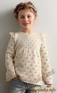 Пуловер (д) 37*76 Phildar №2967