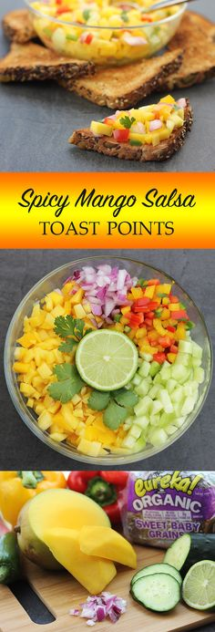 spicy mango salsa toast points spicy mango salsa toast points who ...