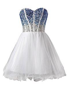 Dresstells Sweetheart Dresses Homecoming Dresses with Beadings Dreamy Blue Dresses Short Prom Dresses for Juniors White Size 2 Dresstells http://www.amazon.com/dp/B00M6RZR2G/ref=cm_sw_r_pi_dp_FjIhub0DGF4A9