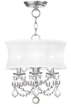 View The Livex Lighting 6303 Newcastle 3 Light Semi Flush Ceiling Fixture At Build