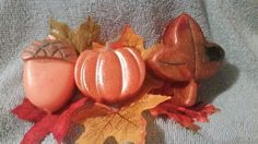Fall Soap Gift Set - Great Party Favor!!  Housewarming!! Autumn!! Fall!! by heffernanscrafts on Etsy