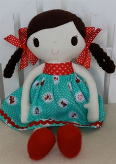 Ruby & Belle - Handmade Little Red Riding Hood Doll | Ruby & Belle | madeit.com.au
