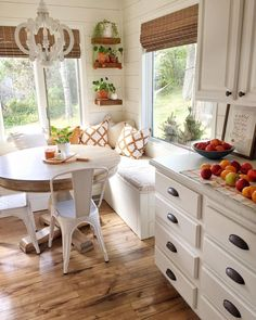 sweet home 7 Breakfast Nook Ideas that Dont Break - Home Decor Kitchen, New Kitchen, Home Kitchens, Kitchen Ideas, Minimal Kitchen, Awesome Kitchen, Kitchen Planning, Cottage Kitchens, Custom Kitchens