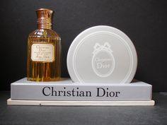 VINTAGE Christian Dior MISS DIOR  EDT and   Dusting Powder in Original Box #ChristianDior
