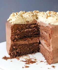 Sweet Desserts, Sweet Recipes, Dessert Recipes, Chocolate Recipes, Chocolate Cake, Marshmallows, Baking Bad, Good Food, Yummy Food