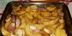 Zapečeni luk i krompir