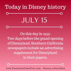 Disney Classics Collection, Disney Fun Facts, Disney Traditions, Disney Collectibles, July 15, Disney Pins, Grand Opening, Walt Disney World, Vintage Toys