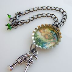 how to make bottle cap necklaces « Rings and Things