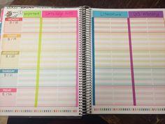 Altering the Erin condren teacher planner