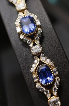 A general view of jewelry on display is seen at The Extraordinary Jewelry Of Parisian Jeweler Alexandre Reza at Sotheby's on October 31, 2013 in New York City.