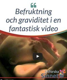 Befruktning och graviditet i en fantastisk video.  Tack vare #teknologins #framsteg är fyra minuter tillräckligt för att #föra oss in i den fantastiska världen av #befruktning och #mänskligt liv.