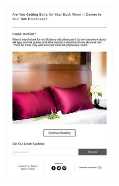 Posted: When I went to look for my Mulberry silk pillowcase I did my homework about silk type and silk grades and what exactly it should do to my skin and hair. There for I was very well informed what silk pillowcase I want. Mulberry Silk, Very Well, Bangs, Pillow Cases, Things To Come, Natural, Bed, Furniture, Home Decor