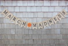 March Madness Decor March Madness Banner by IchabodsImagination