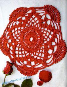 =(^.^)=Rô Tricô e Crochê Mania=(^.^)=: Mais algumas toalhinhas em crochet