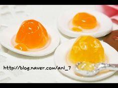 미니어쳐 젤리 푸딩 만들기 Miniature * Pudding - YouTube