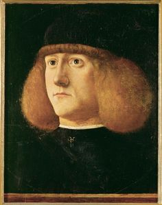 Portrait of a young man  Giovanni di Niccolò M...  c. 1500