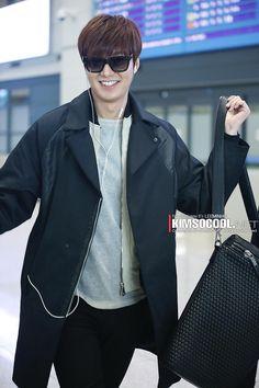 Lee Min Ho ♥ airport fashion