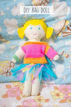 Rag Doll With A Knit
