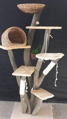 15 Things To Avoid In Building A Custom Cat Tree - meowlogy Cat Tree House, Diy Cat Tree, Best Cat Tree, Cat Shelves, Cat Playground, Cat Enclosure, Cat Climbing, Cat Room, Cat Condo