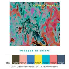 Lenzing Colors Fashion Trends 2014-2015 Fall Autumn Winter Season - Floral Fever