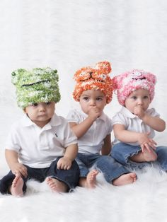 Cozy Creature Hats | Free Knitting Patterns  Yarnspirations
