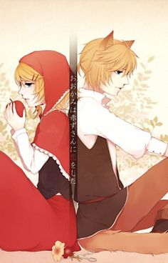 Vocaloid Len, Kagamine Rin And Len, Kaito, Original Song, Best Couple, Red Riding Hood, Little Red, Anime Love, Bad Boys