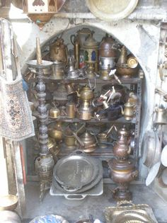 Antiques in Damascus, Syria