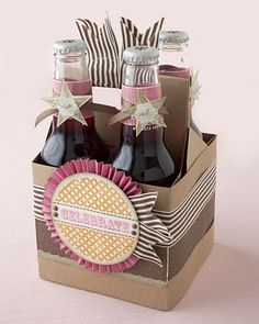 What a cute gift and/or party idea from Jeanette Lynton! #CTMH    I so want to learn how to make this!!!!!
