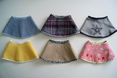 using oliver and s hat pattern for a doll skirt. I know some dolls who will get some new skirts!