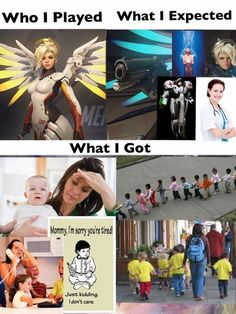 Life of a Mercy main.