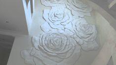 Барельеф розы